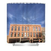 Howell Opera House Shower Curtain
