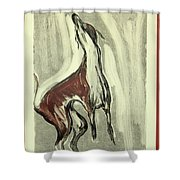 Howling For Joy Shower Curtain