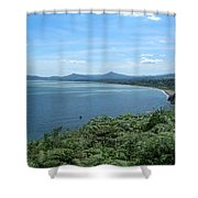 Howth Bay Shower Curtain