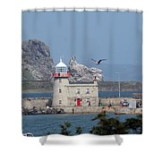 Howth Lighthouse 0005 Shower Curtain