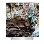Hpa-an Caves Shower Curtain