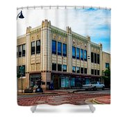 H.s. Kress Five And Dime Store Shower Curtain