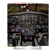 Hu-16b Albatross Cockpit Shower Curtain