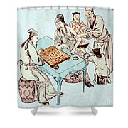 Hua Tuo Operating On Juan Kung, 2nd Shower Curtain