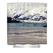 Hubbard Glacier Alaska Wilderness Shower Curtain
