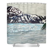 Hubbard Glacier In July Shower Curtain
