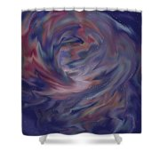 Hubble One Shower Curtain