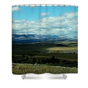 Hudson Bay Divide, From Looking Glass Shower Curtain