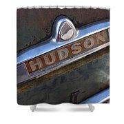 Hudson Car Emblem Shower Curtain