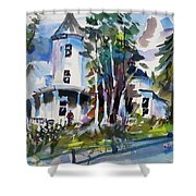 Hudson River Victorian Shower Curtain