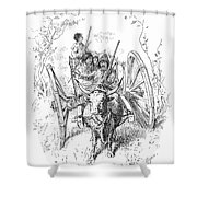 Hudsons Bay Company Traders Shower Curtain