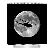 Huey Moon .png Shower Curtain