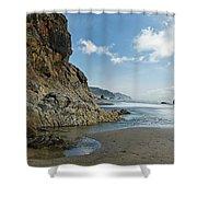 Hug Point Beach Shower Curtain