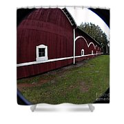 Huge Barn Shower Curtain