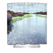 Huge Puddle Shower Curtain