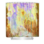 Hugging Canvas Shower Curtain