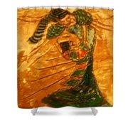Hugs - Tile Shower Curtain