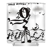 Hula Shower Curtain