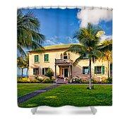 Hulihe'e Palace, Kona, Big Island Hawaii Shower Curtain