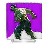 Hulk Collection Shower Curtain