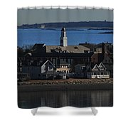 Hull Looking South Shower Curtain
