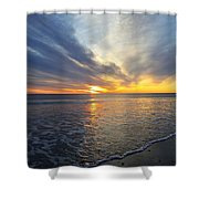 Hull Sunrise In March  Shower Curtain