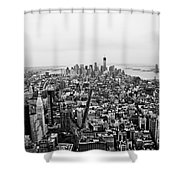 Human Ant Hill Shower Curtain