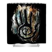 Humanity Native Symbol Shower Curtain