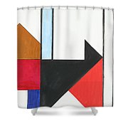 Humanity - Part I Shower Curtain