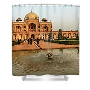 Humayun's Tomb 01 Shower Curtain