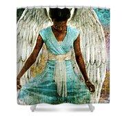 Humble Angel Shower Curtain