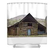 Humble Cross Shower Curtain