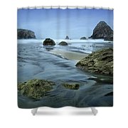 Humble End Shower Curtain