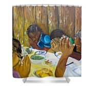 Humble Gratitude Shower Curtain