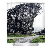 Humboldt Bay National Wildlife Refuge Shower Curtain