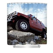 Hummer Shower Curtain