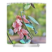 Hummer On Hummers Shower Curtain