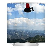Humming At Copper Canyon Shower Curtain
