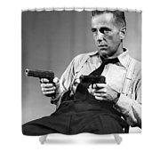 Humphery Bogart As Gangster Roy Earle High Sierra 1941 Shower Curtain