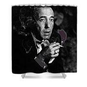 Humphrey Bogart Portrait #2 Circa 1954-2014 Shower Curtain