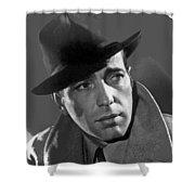 Humphrey Bogart Publicity Portrait Casablabca 1942-2016 Shower Curtain