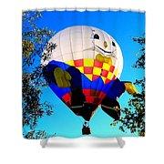 Humpty Dumpty Balloon Shower Curtain