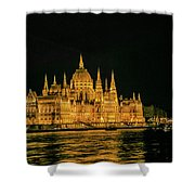 Hungarian Parliament  Shower Curtain