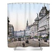 Hungary: Budapest, C1895 Shower Curtain
