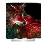 Hunger Prowl Shower Curtain