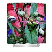Hungry Mouths Shower Curtain