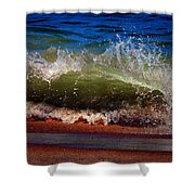 Hungry Wave Of Fenwick Island Shower Curtain