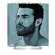 Hunk Shower Curtain