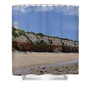 Hunstanton Cliffs Shower Curtain