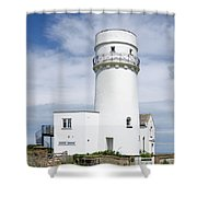 Hunstanton Lighthouse Shower Curtain